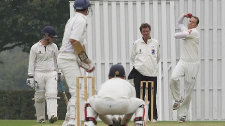 For the second week running, Shane Burger struck early for Radlett. Picture: Danny Loo