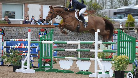 Phillip Miller and Unbelievable Lady in action earlier in the year.