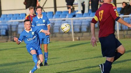 Rhys Lawrence opened the scoring in last week's 2-2 draw with Romford. Picture: James Whittamore
