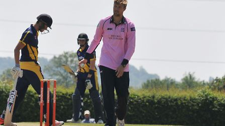 Olly Rayner, pictured earlier this year at Radlett with Middlesex 2s, wants to play more one-day gam