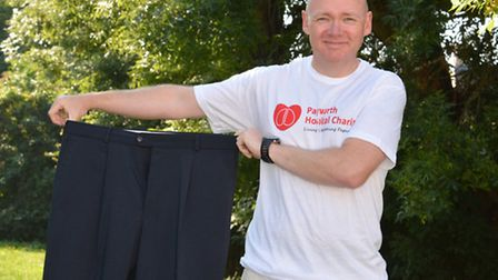 Paul Lincoln, of Hartford, entered the 100km London to Cambridge walk and raised £1600 for Papworth