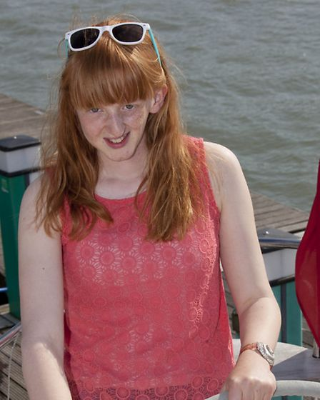 Charlotte in a sailing voyage last year.