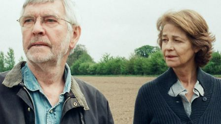 Unhappy anniversary: Tom Courtenay and Charlotte Rampling in 56 Years