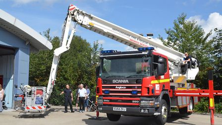 St Albans fire station open day