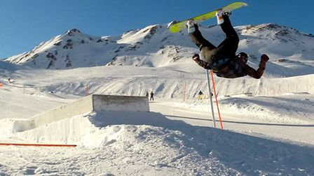 Michael Easton has become the UK's first deaf snowboard instructor