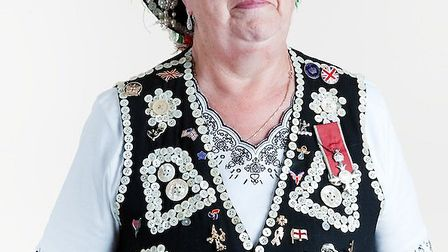 Joyce Carr, the Pearly Queen of Southwark