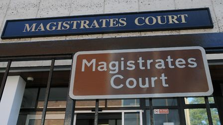 The knicker nicker appeared at St Albans Magistrates Court