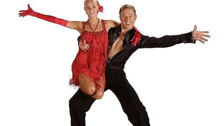 Camilla Dallerup and Ian Waite will take to the stage at The Brook, Cambridge
