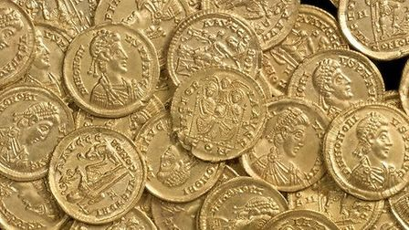 Roman coins to go on display this Saturday (12)
