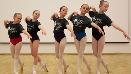 In photo (from left to right): Orla Swann, Amy Barker, Rosie Tustain, Shannelle Jacklin and Hazel Li