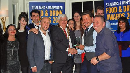The 2014 Food & Drink Award for Best Local Restaurant was won by Lussmanns Fish & Grill Restaurant,