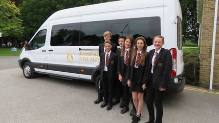 From left to right: Matthew Brown, Alex Brundle, Henry Jones, Rebecca Hannon, Paige Suter and Phoebe