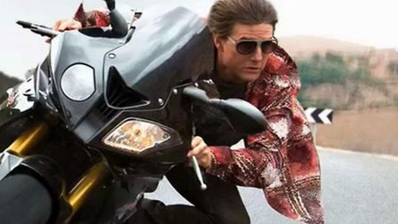 Tom Cruise stars in Mission Impossible: Rogue Nation