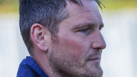 St Albans City joint-manager James Gray. Picture: Bob Walkley