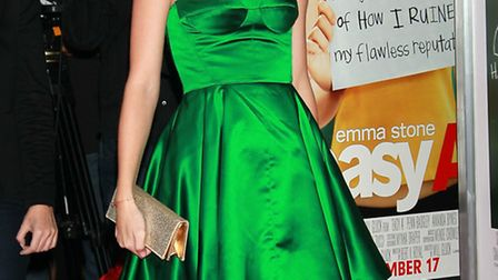 "Taylor Swift attends the premiere of ""Easy A"" (Photo by David Livingston/Getty Images)"