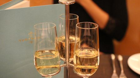 A taster trio of champagnes