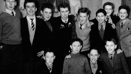 1955 starters at St Ivo, the school are trying to find out who these people are