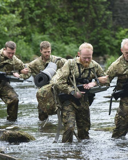 Special Forces: Ultimate Hell Week - Picture Shows: Michael Miller, Huw Brassington, Danny Bent, Pa