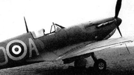 A Spitfire X4593. Picture: Aviva Group Archive.