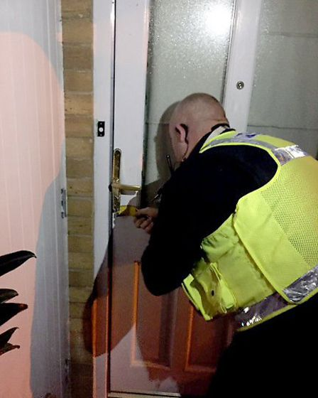 Police targeted eight homes in St Albans this week