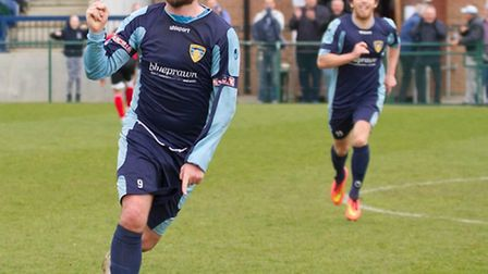 Lee Clarke scored but missed a penalty as St Neots went out of the FA Cup.