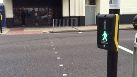 The ghostly problem with traffic lights on London Road has been fixed