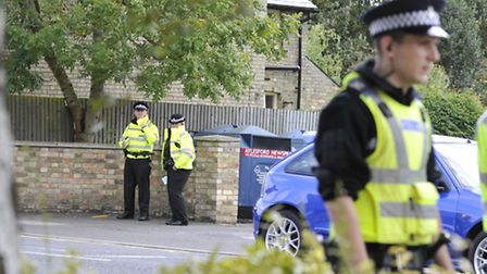 Police are investigating the incident in London Colney