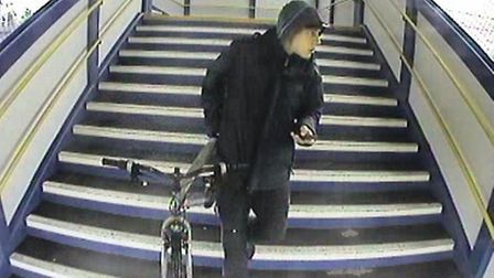 Police would like to speak to this man in connection with an incident in St Neots