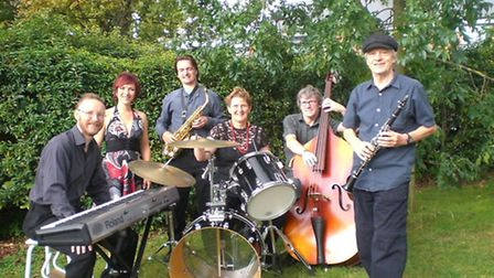 The Jazz Wave Band will perform this weekend at The Old Bull Inn.