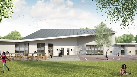 An artist's impression of how the new Ermine Street Church Academy will look.