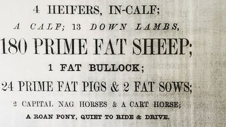 JP Humbert Auctioneers as from 1859 - now they are returning to St Albans