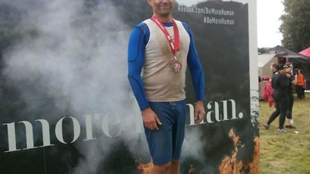 Andy Mcfadyen took part in the Spartans Race.