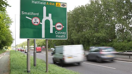 The long-a-bout on the A414
