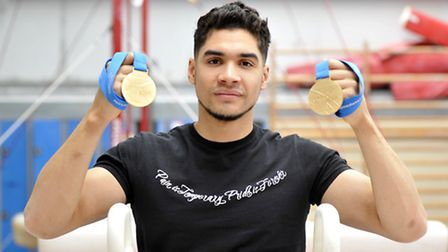 Louis Smith won individual and team silver medals at the World Championships.