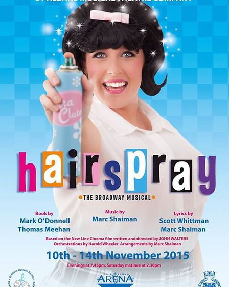 Hairspray is brought to you by St Albans Musical Theatre Company