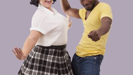 Hairspray favourites Tracy and Seaweed, played by Elise Allanson and Omar Boothman