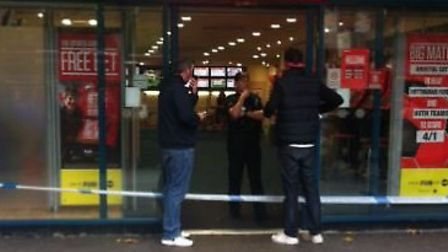 A 17-year-old boy has been arrested following a string of robberies, two of which occurred at the St