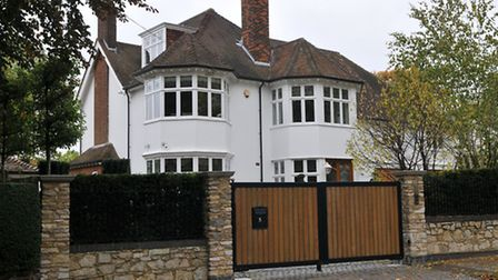 Lawyer John Blavo's home on Cunningham Hill Road, St Albans