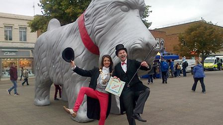 Giant Monopoly in St Albans