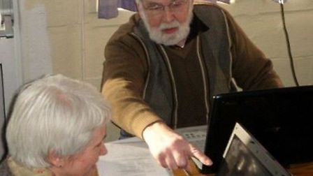 John Brown is stepping down after ten years as a tutor and helper for Computer Friendly in St Albans