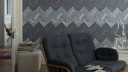 Art deco wallpaper is just one style you can achieve in your home
