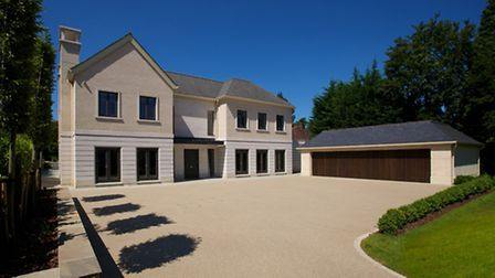 The stunning frontage of Newlands House