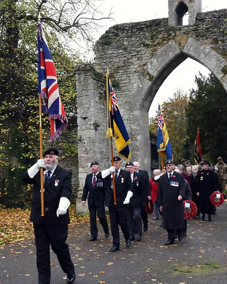 Ramsey Remembrance Parade,