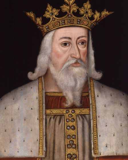 King Edward II from the National Portrait Gallery