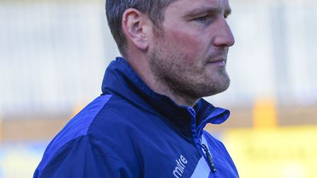 St Albans City joint manager James Gray. Picture: Bob Walkley