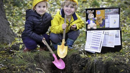 A copy of the Herts Advertiser is to be included in a time capsule being buried at Willows Activity