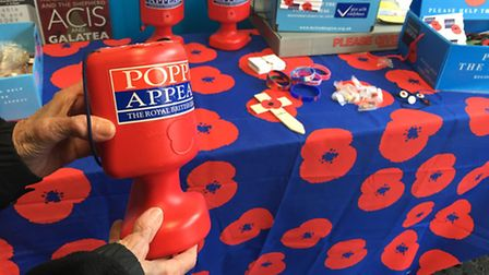The British Legion have been collecting for the Poppy Appeal in St Albans all week