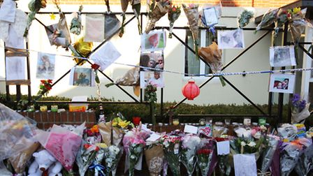 A memorial service for 20-year-old Emille Stapleton was held on Sunday