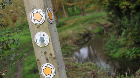 Take one of the scenic walker routes through Batford Springs