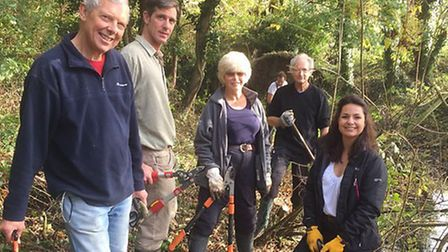 South Cambridgeshire's MP, Heidi Allen, joined Friends of the River Shep on Saturday 31st to clean a